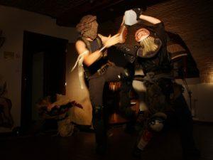 Postapo bitva klanů
