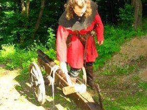 Středověké hry venku