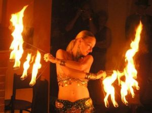 Tanec s ohněm