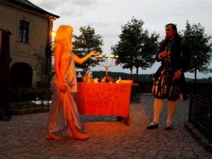 Duchové na hradě