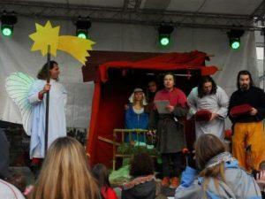 BarStředověké vánoceokní Vánoce