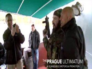 Akční bojovka po Praze