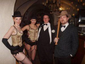 Mafiánský retro kabaret