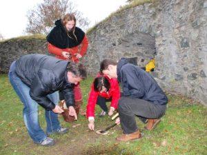 Středověké hry na hradě