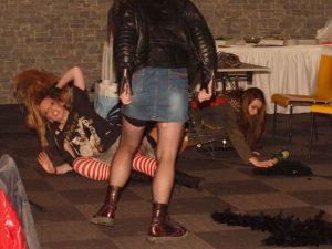 Drsný rockový večírek