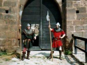 Na středověkém hradě